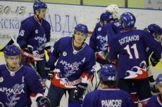«Ариада-Акпарс» одержала очередную победу в чемпионате ВХЛ