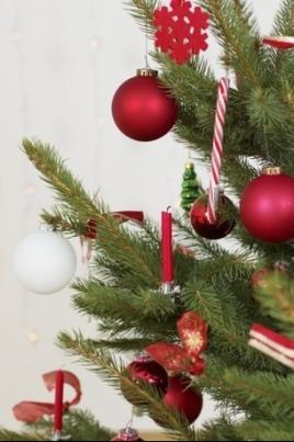 Праздник елки новогодней постер